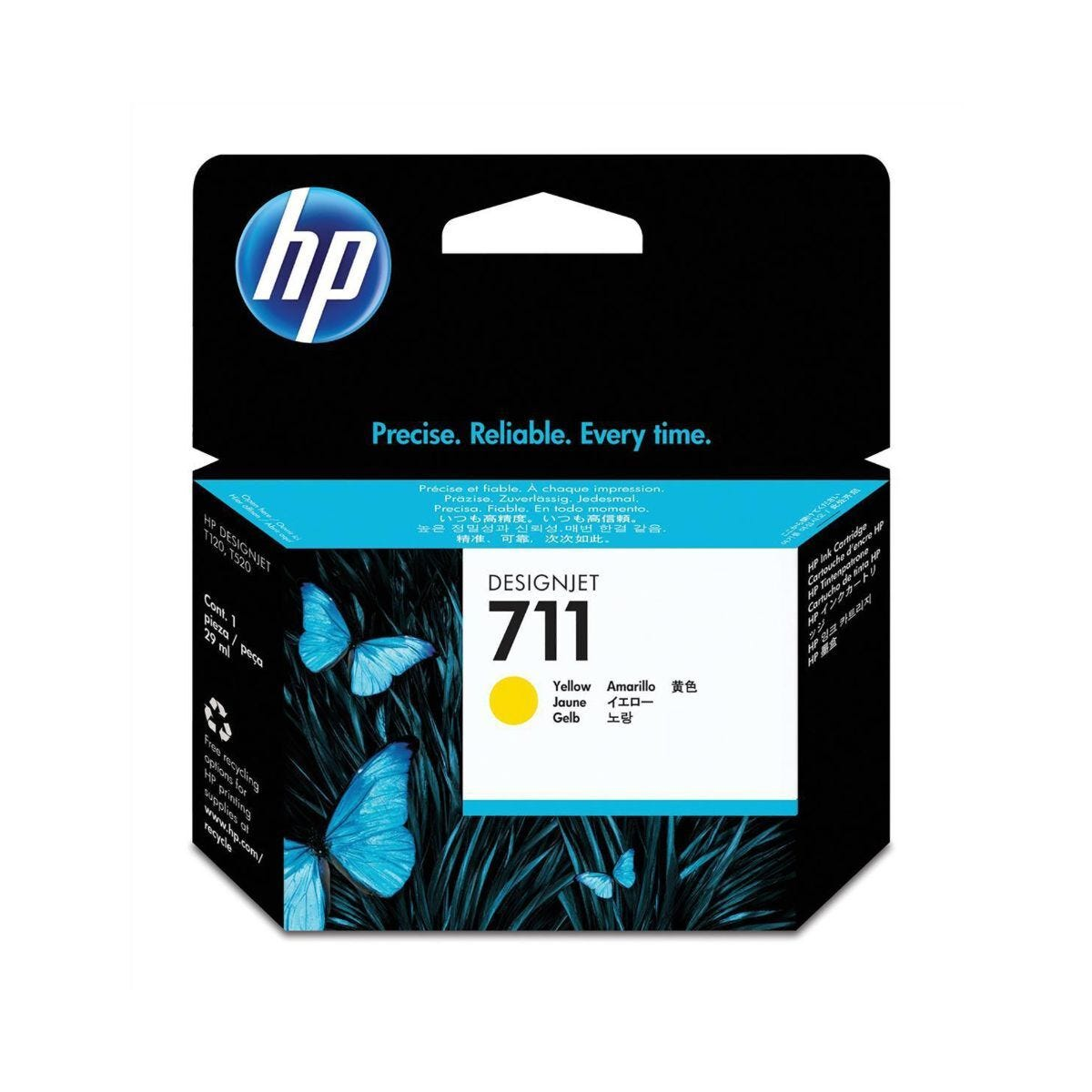 HP 711 29-ML Ink Yellow
