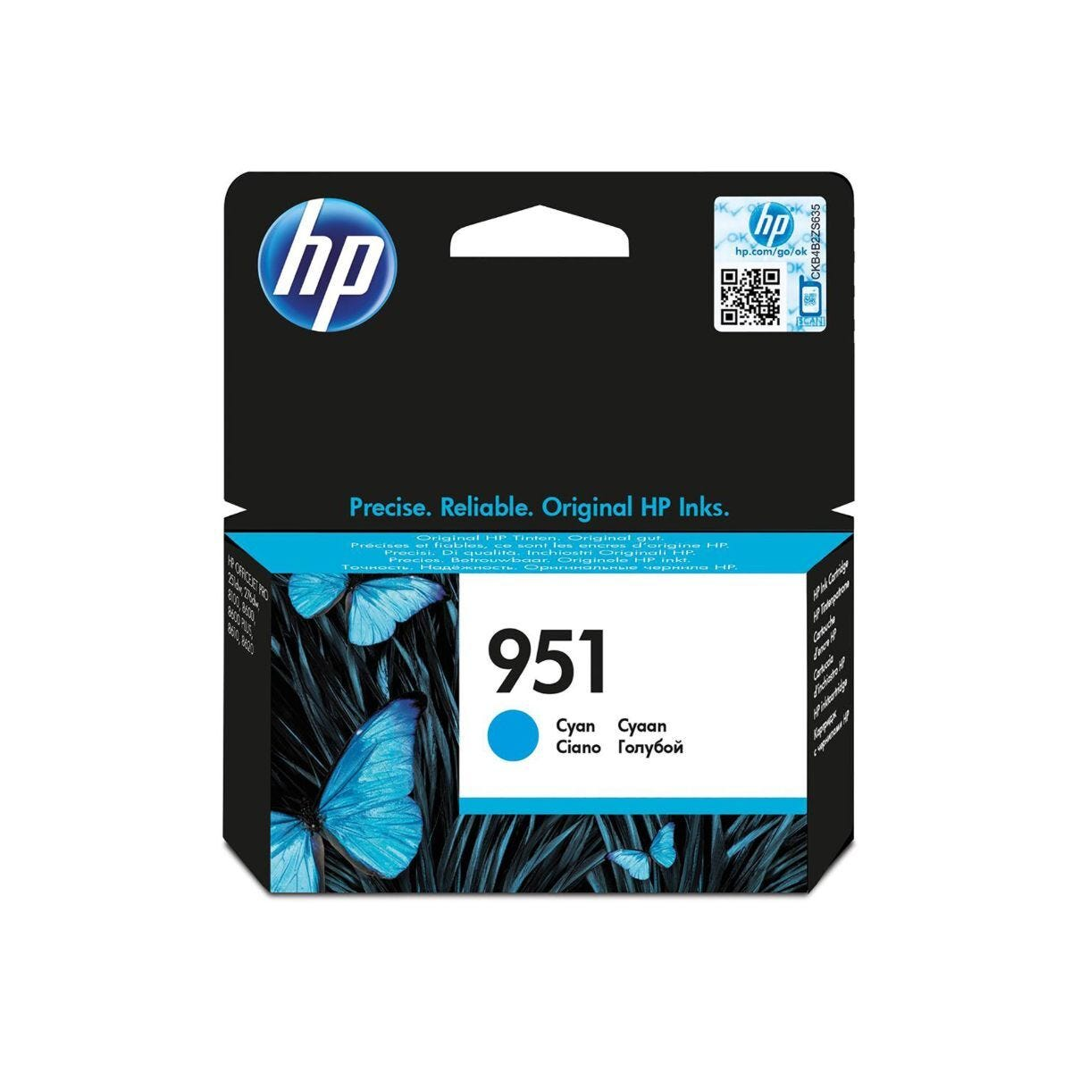 HP 951 Officejet Ink Cyan