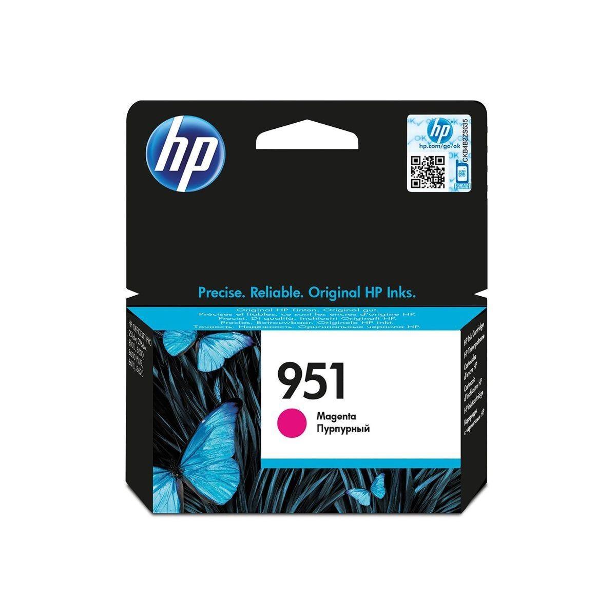 HP 951 Officejet Ink Cartridge Magenta CN051AE