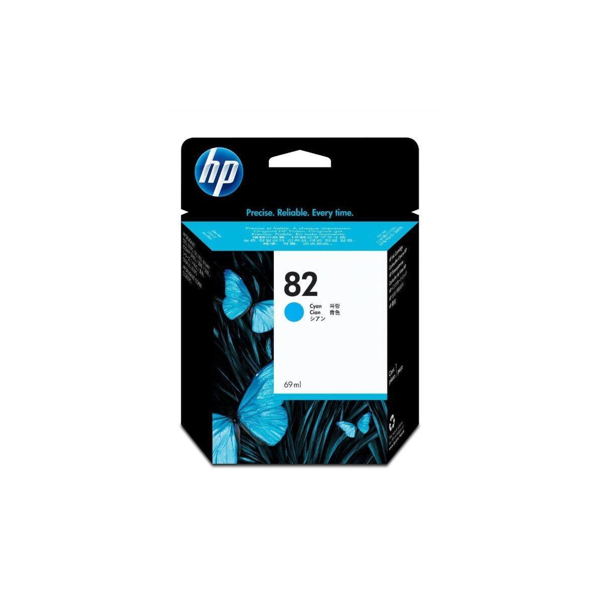 HP 82 Dye Inkjet Cartridge Cyan
