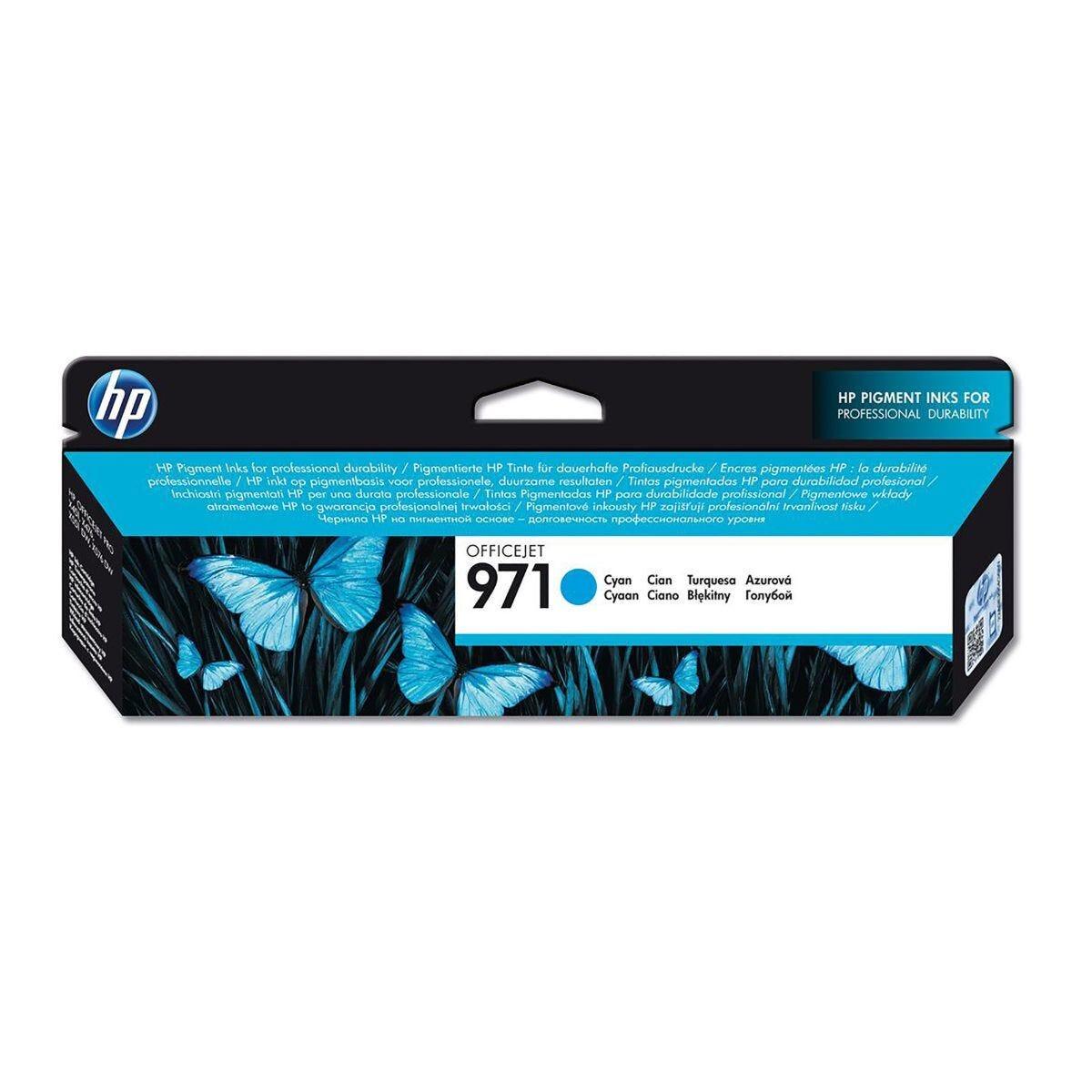 HP 971 Officejet Ink Cartridge HP CN623AE Cyan