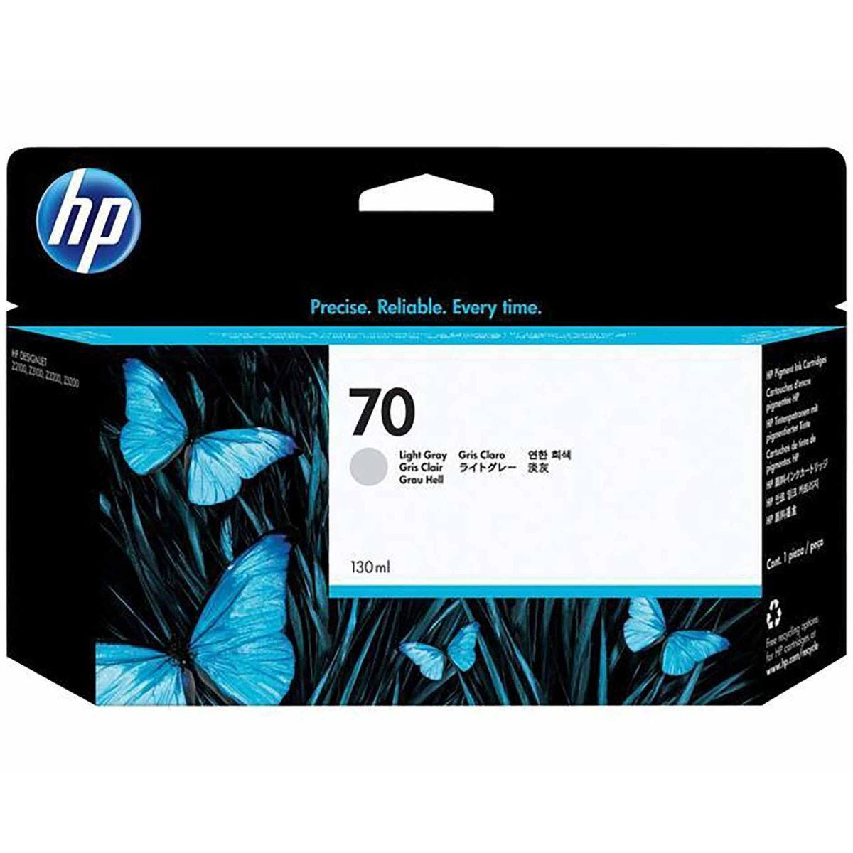 HP 70 Inkjet Cartridge Light Grey