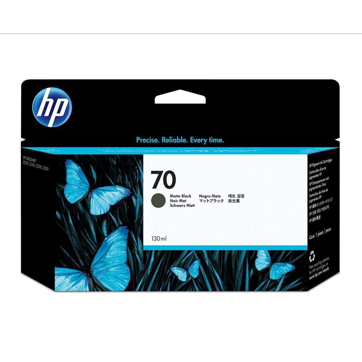 HP 70 Matte Black Original Ink Cartridge