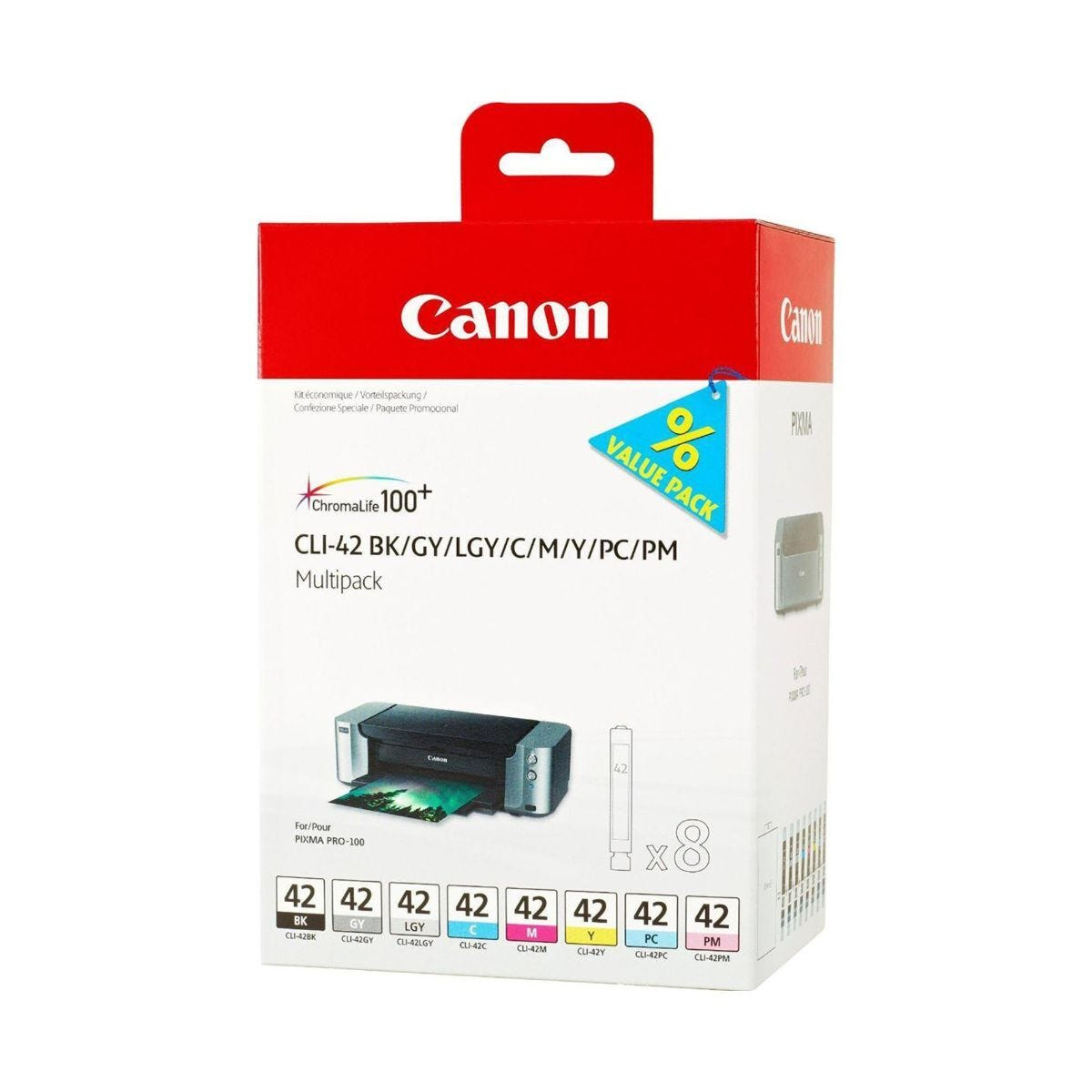 Canon CLI-42 8 Ink Cartridge Multi Pack