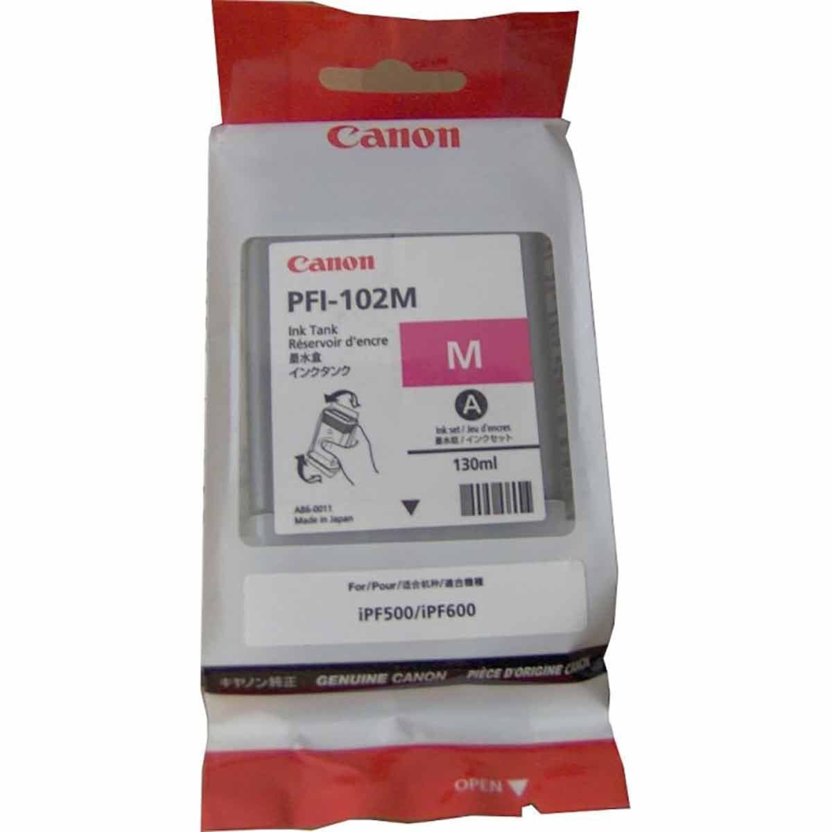 Canon IPF600 Magenta Original Ink Tank Cartridge