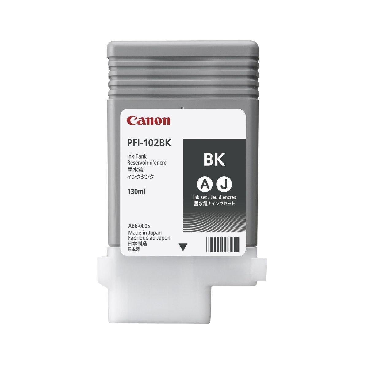 Canon IPF600 Black Ink Tank