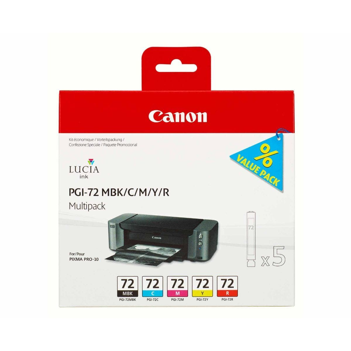 Canon PGI-72 Mulit Pack Ink Cartridge