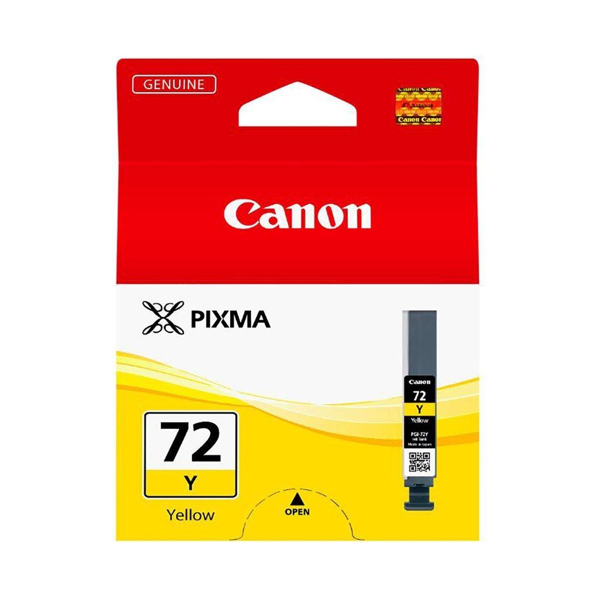 Canon PGI-72 Yellow Ink Tank