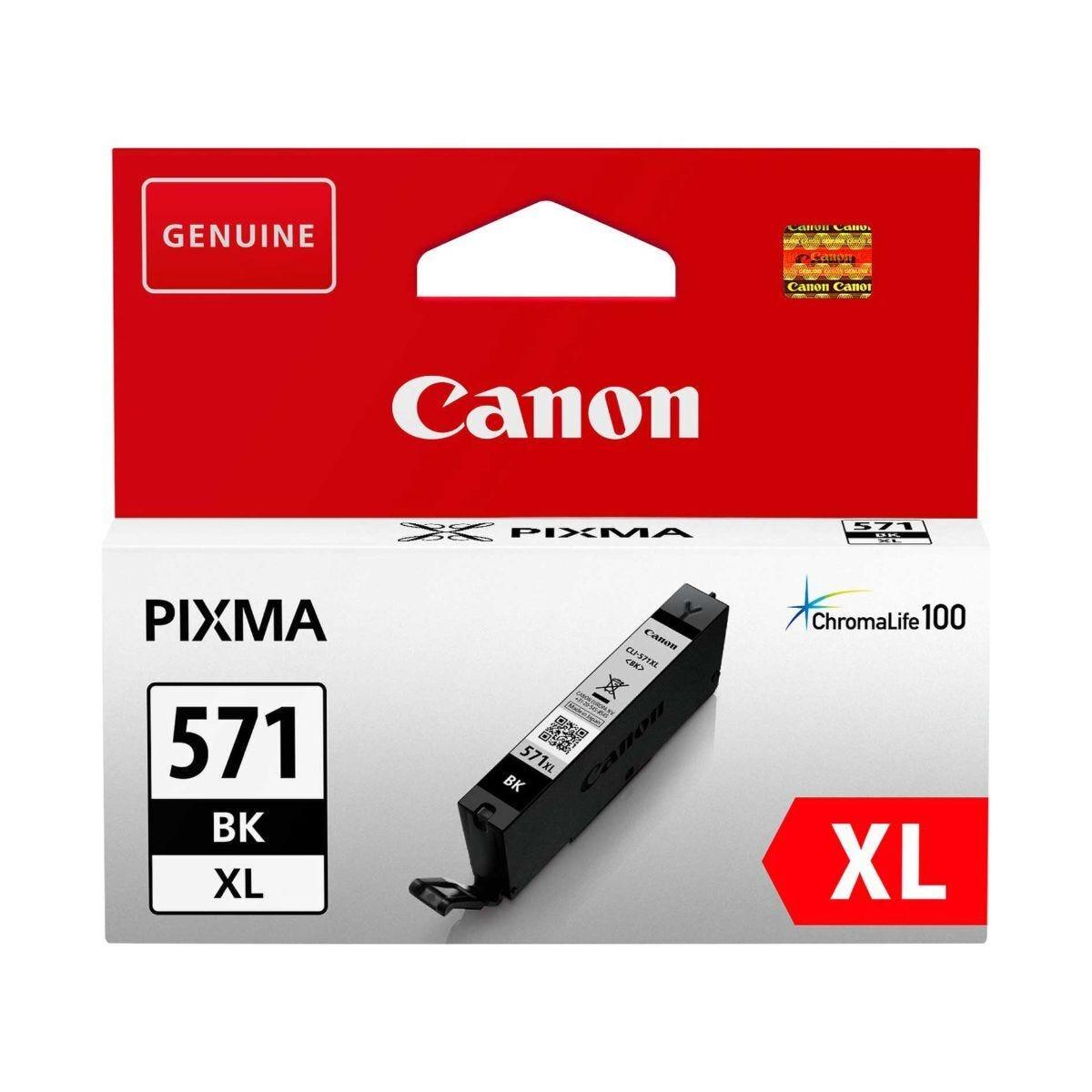 Canon CLI-571XL Black Ink Cartridge
