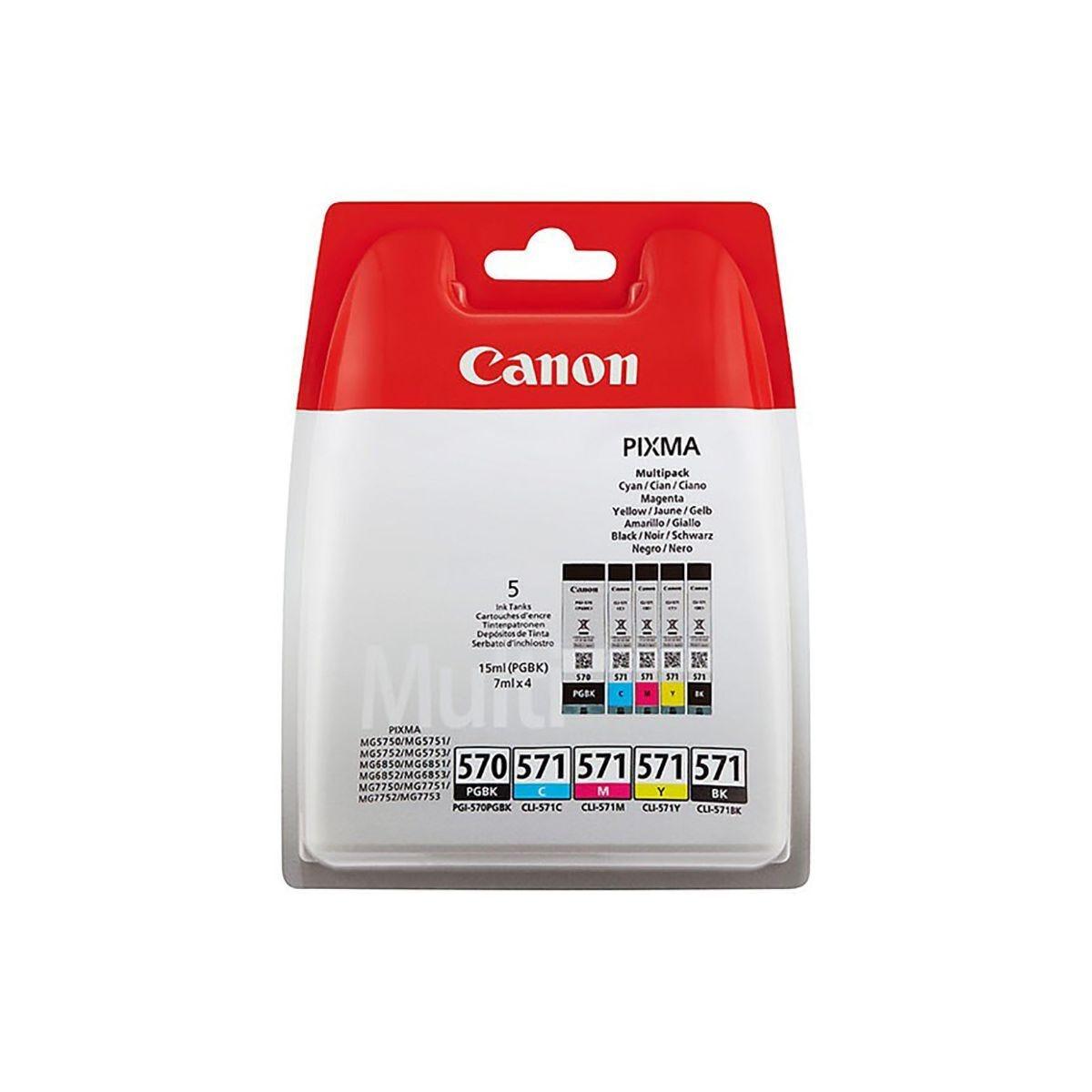 Canon PGI-570 Value Pack Ink Cartridges