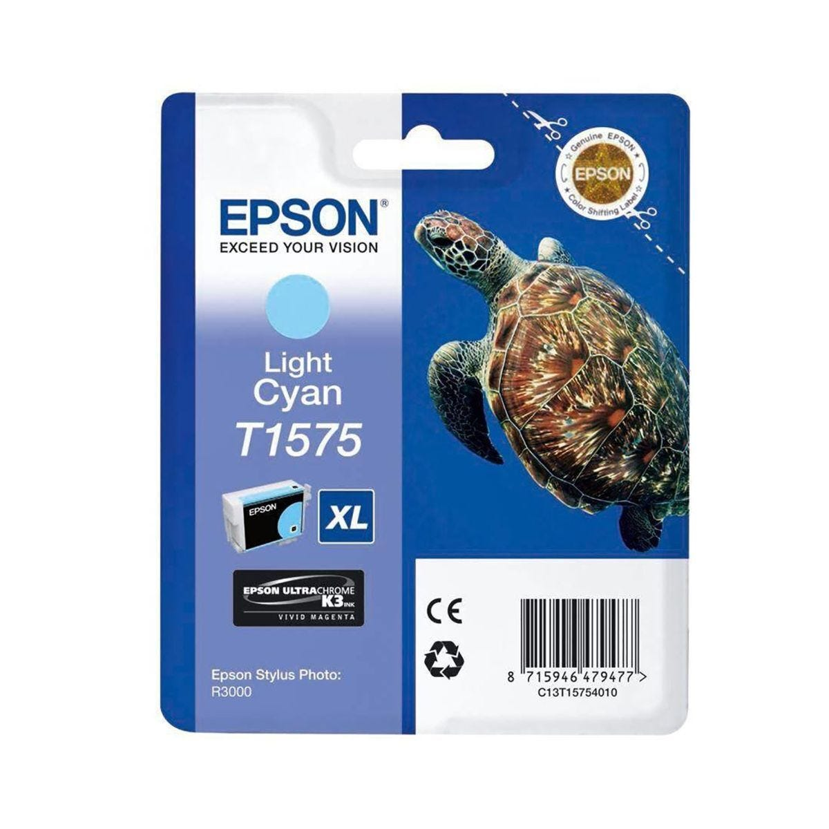Epson R3000 Light Cyan Ink Cartridge