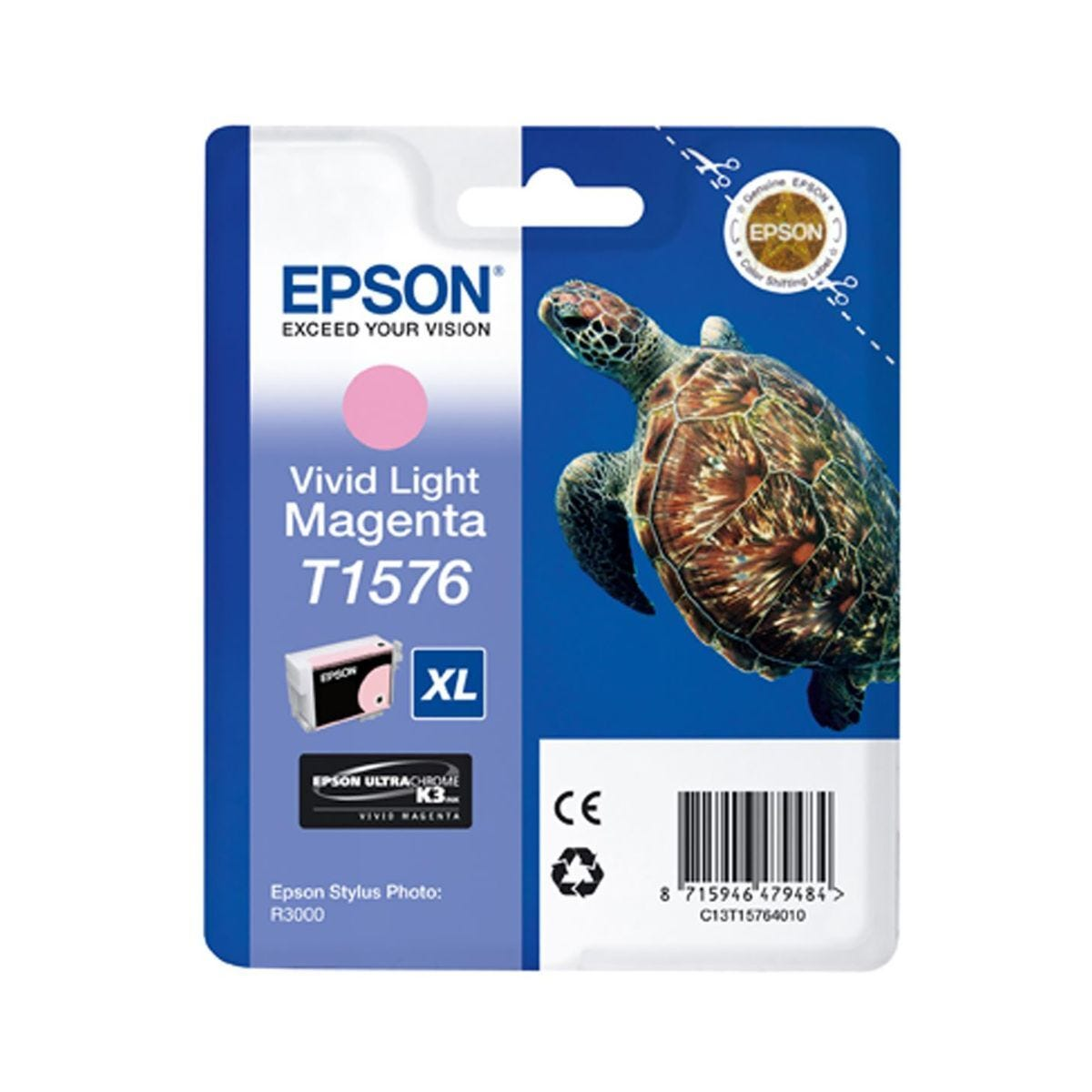Epson R3000 Vivid Light Magenta Ink Cartridge