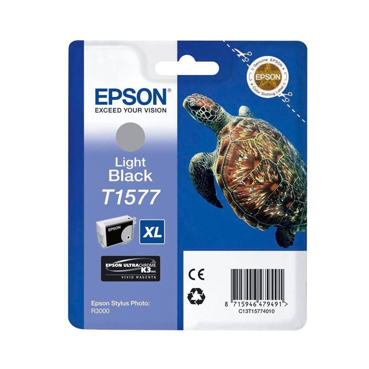 Epson R3000 Light Black Ink Cartridge
