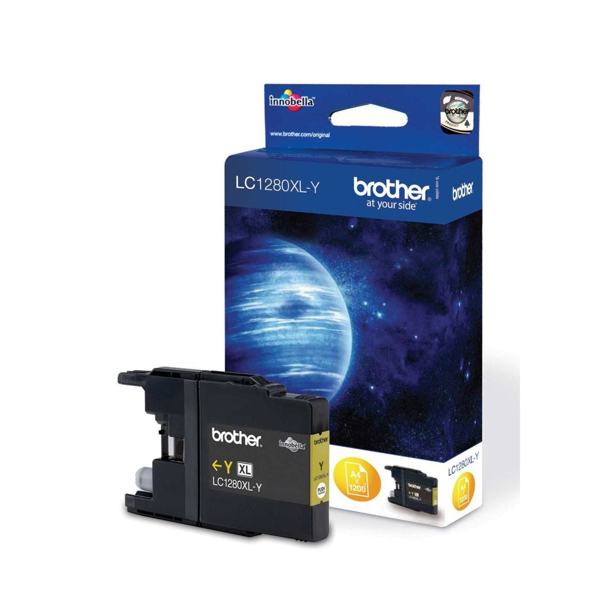 Brother LC1280XL Ink Cartridge Yellow