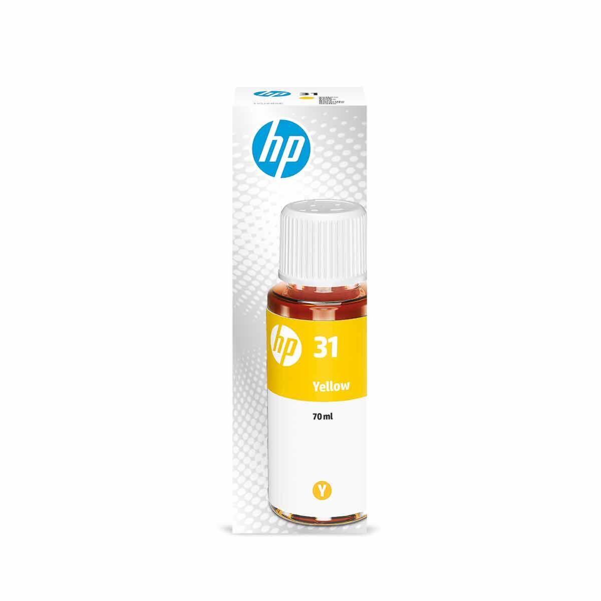 HP 31 Smart Tank Yellow Ink Bottle 70ml
