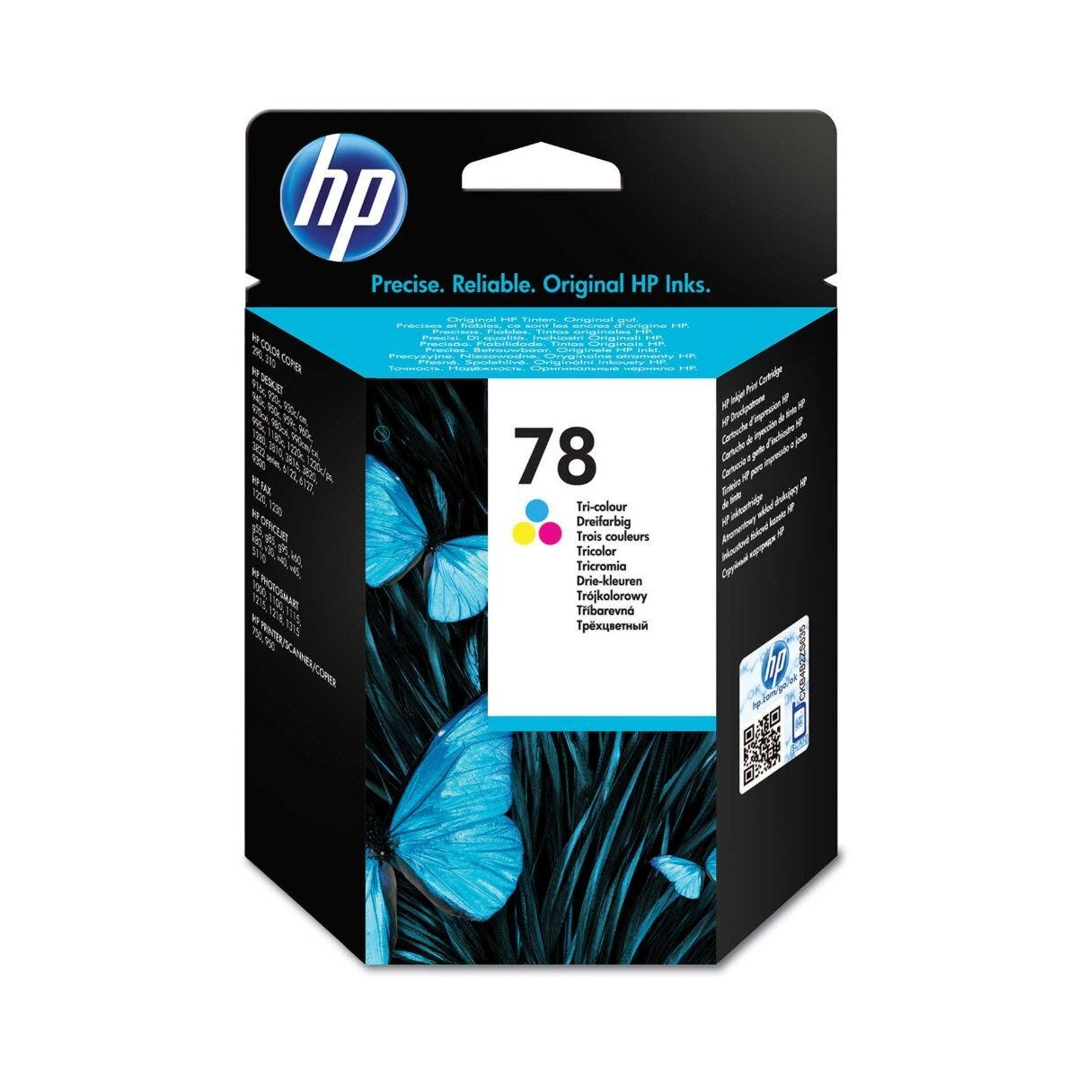 HP 78 Tri Colour Ink Cartridge 19ml