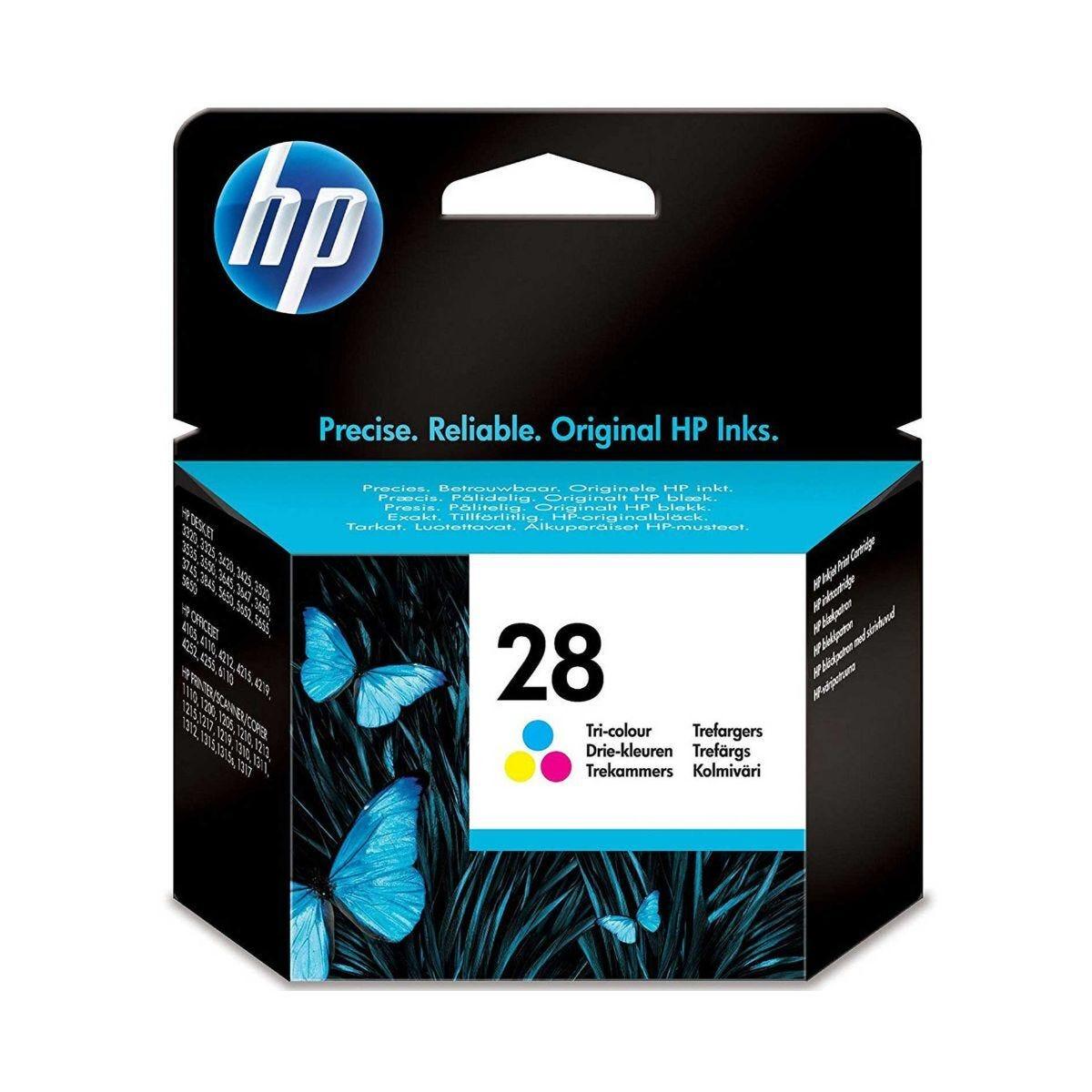 HP 28 Tri Colour Printer Ink Cartridge