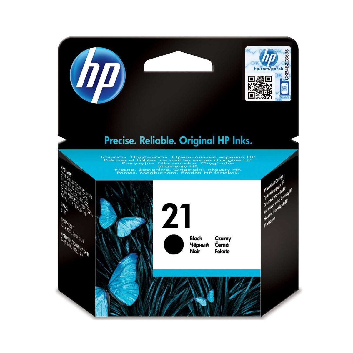 HP 21 Ink Cartridge 5ml