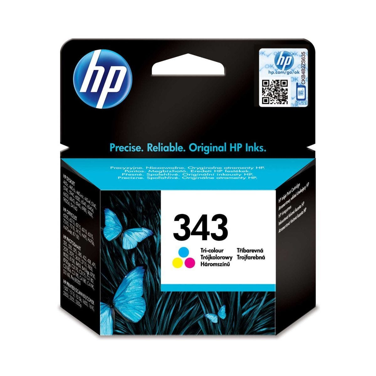 HP 343 Ink Cartridge 7ml