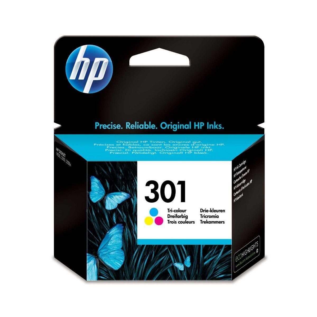 HP Inkjet Cartridge 301 Colour