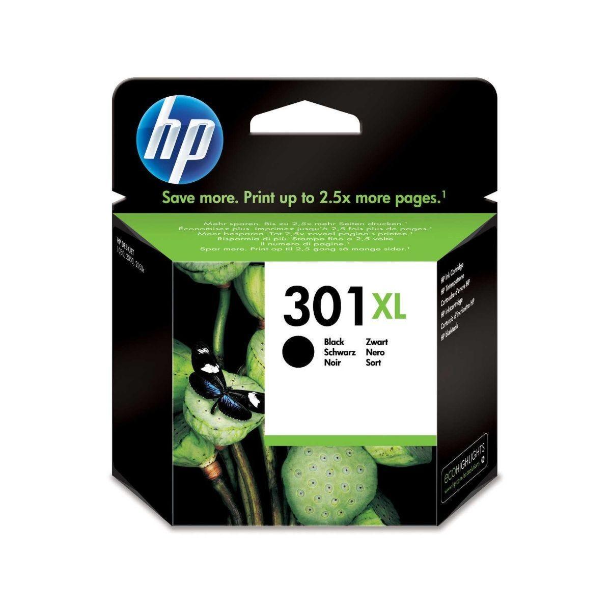 HP  301XL Inkjet Cartridge Black