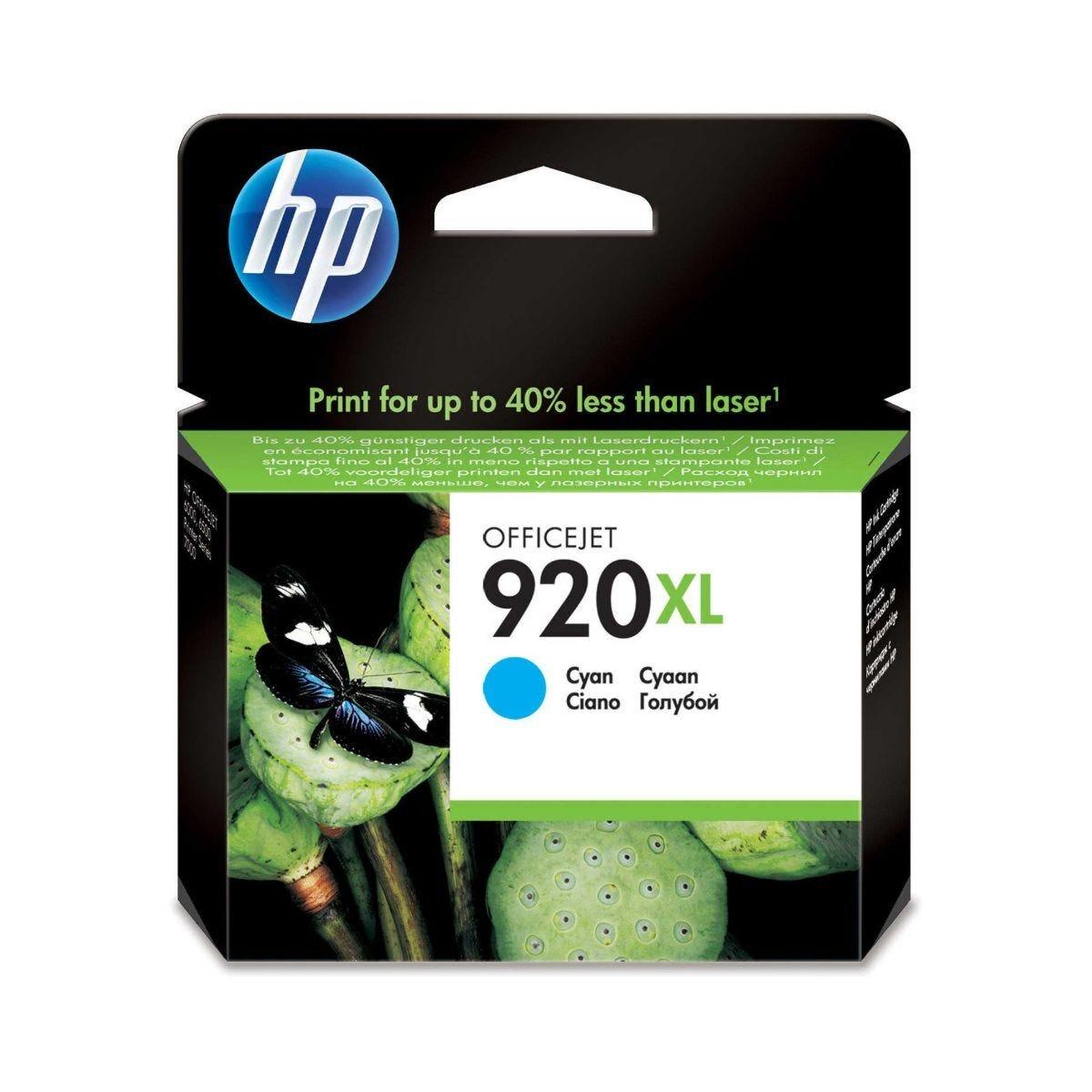 HP 920XL Inkjet Cartridge Cyan