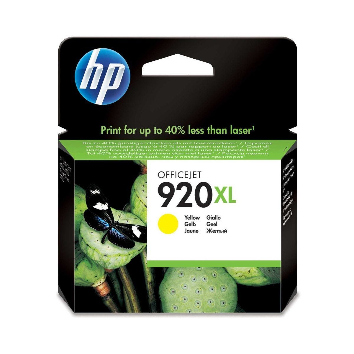 HP 920XL Inkjet Cartridge Yellow