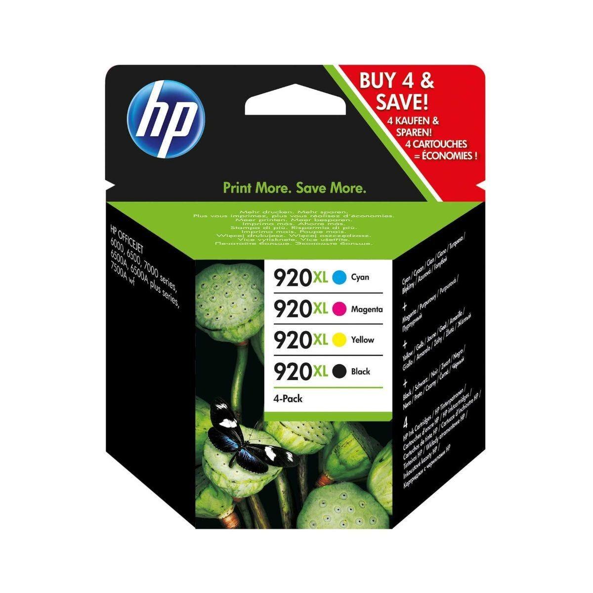 HP 920XL Inkjet Cartridge Multi Pack