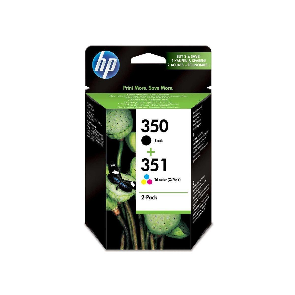 HP 350/351 Printer Ink Cartridge Multipack