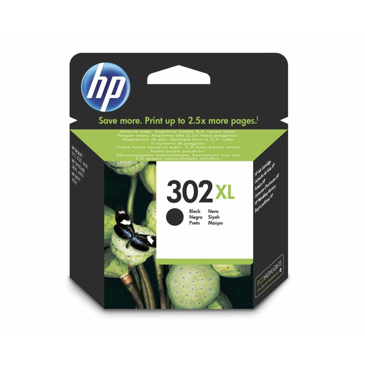 HP 302XL Ink Cartridge Black