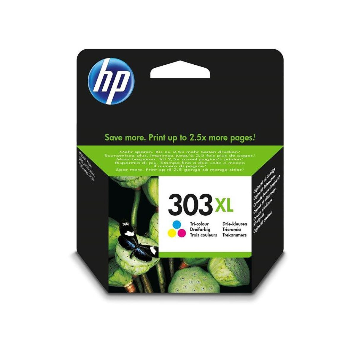 HP Ink Cartridge 303XL Tri-Colour Inkjet