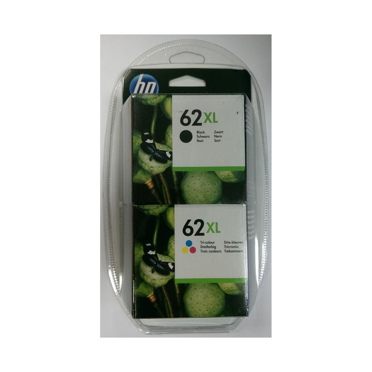 HP 62XL Combo Pack
