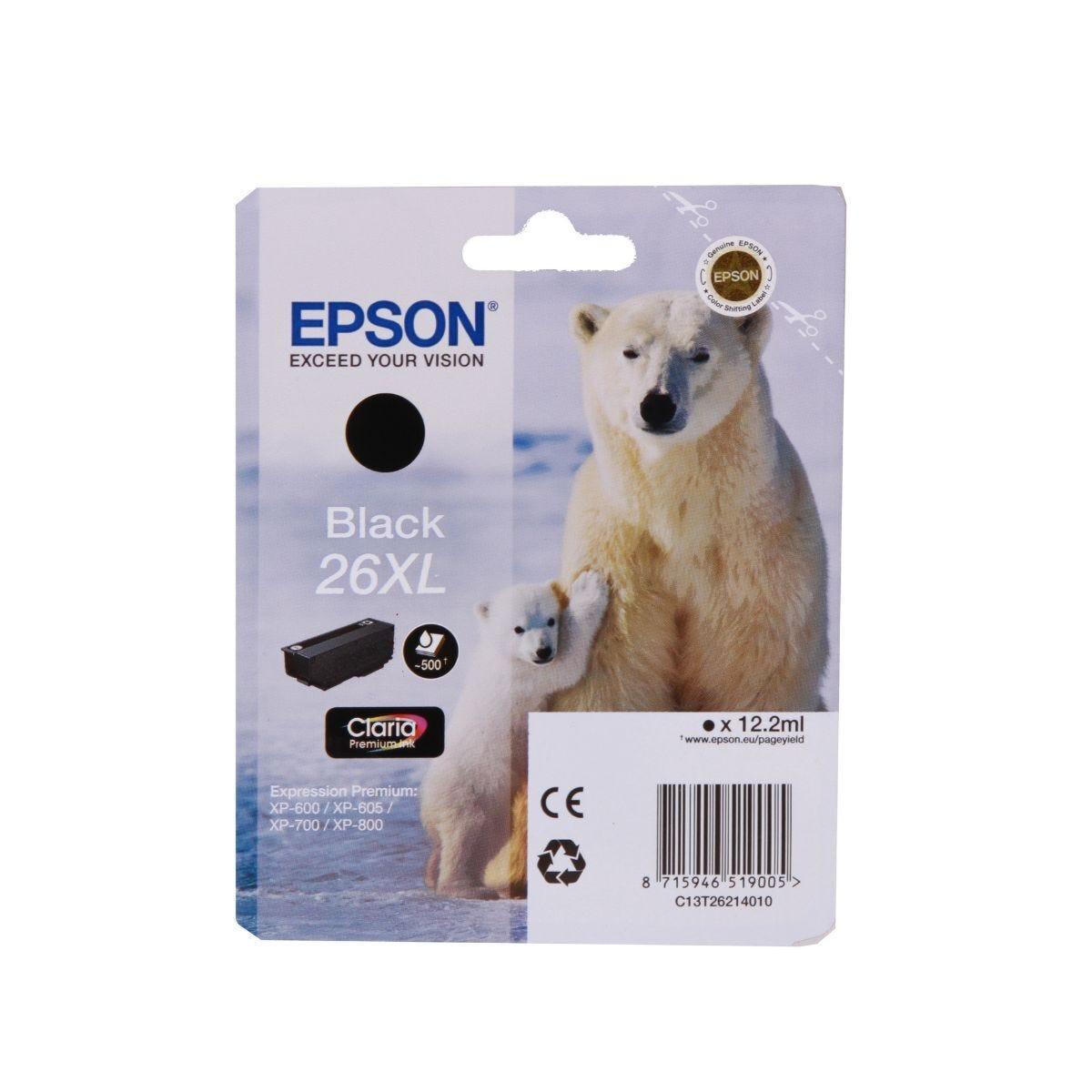 Epson 26XL Inkjet Cartridge T2621