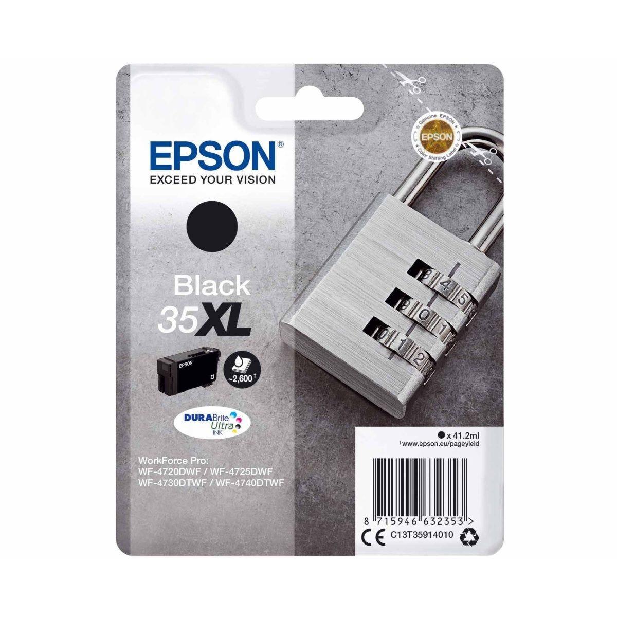Epson 35XL Multipack WorkFroce Pro Black Ink