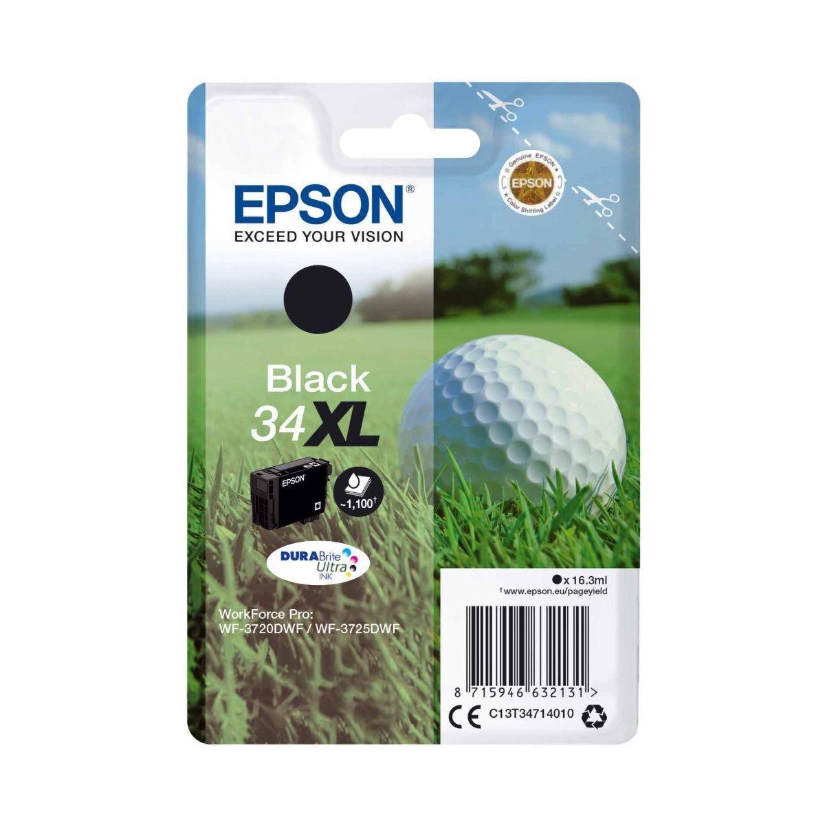 Epson 34XL Black Ink Cartridge