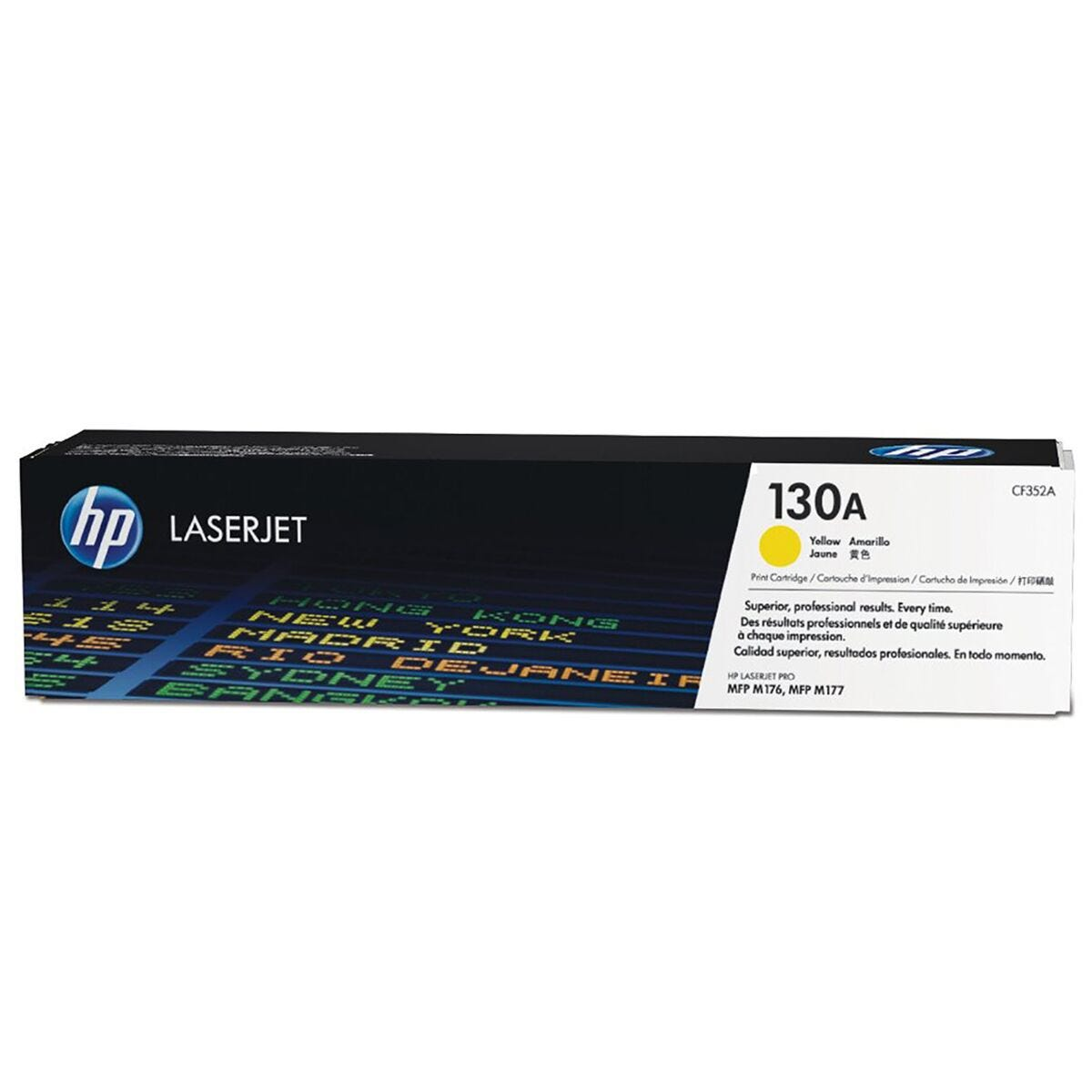 HP 130A Laser Toner Yellow