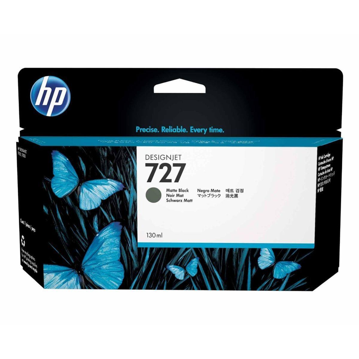 HP 727 130ml Matte Black Original Ink Cartridge
