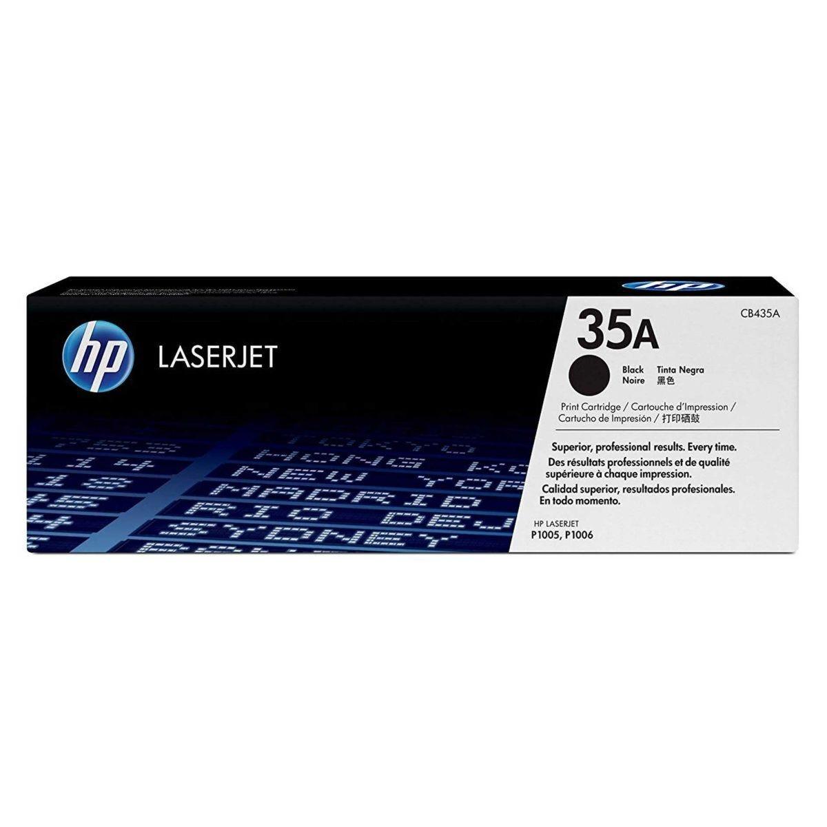 HP 35A Laser Printer Ink Toner Cartridge CB435A