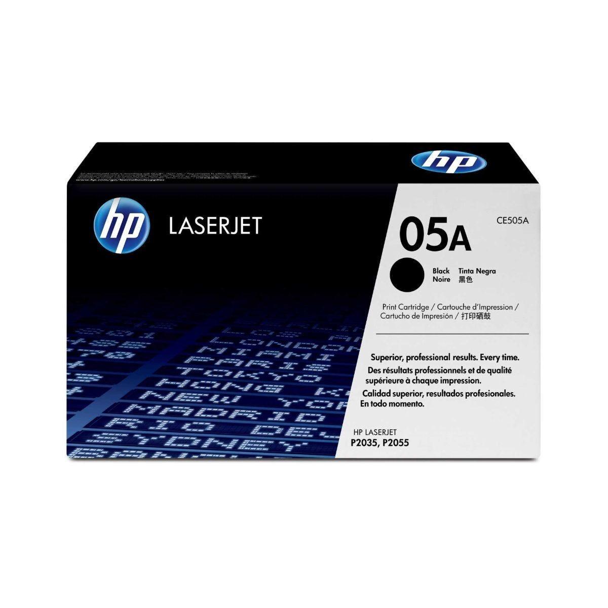 HP 05A CE505A Laser Printer Ink Toner Cartridge