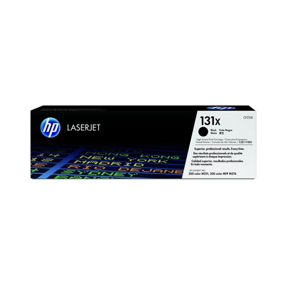 HP 131X High Yield Laserjet Toner Cartridge CF210X