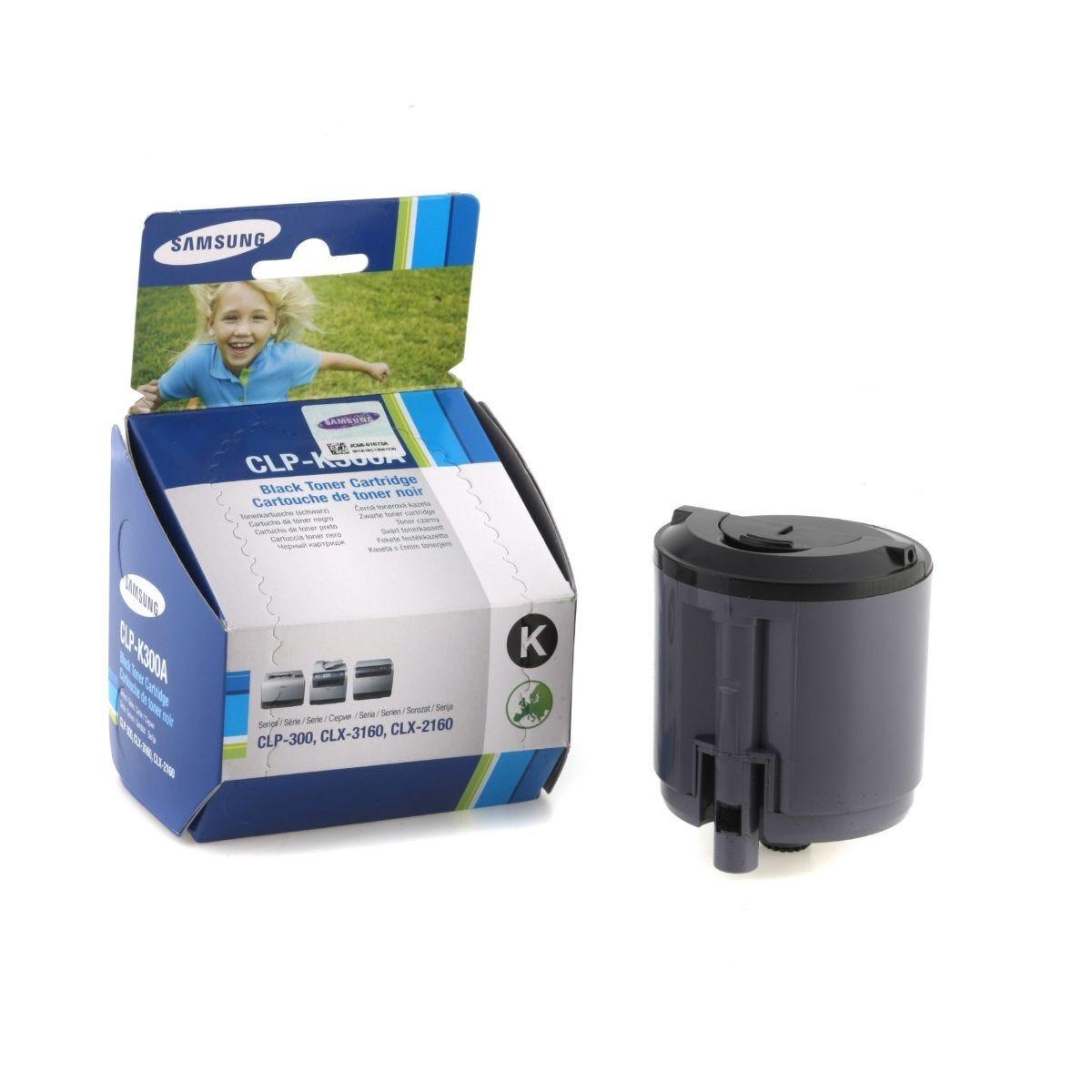 Samsung CLP-K300A Laser Printer Ink Toner Cartridge