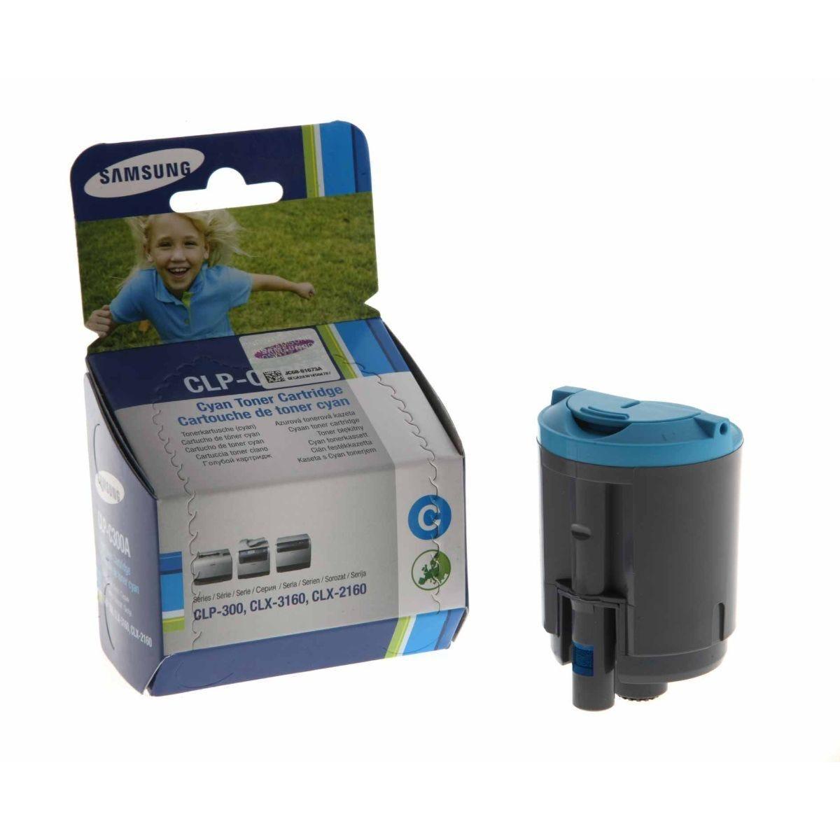 Samsung CLP-C300A Laser Printer Ink Toner Cartridge