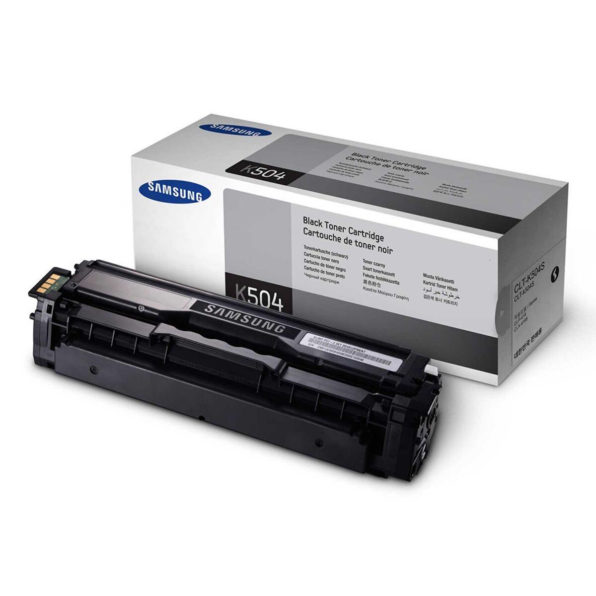 Samsung CLT-504S/ELS Inkjet Toner Cartridge Black Black