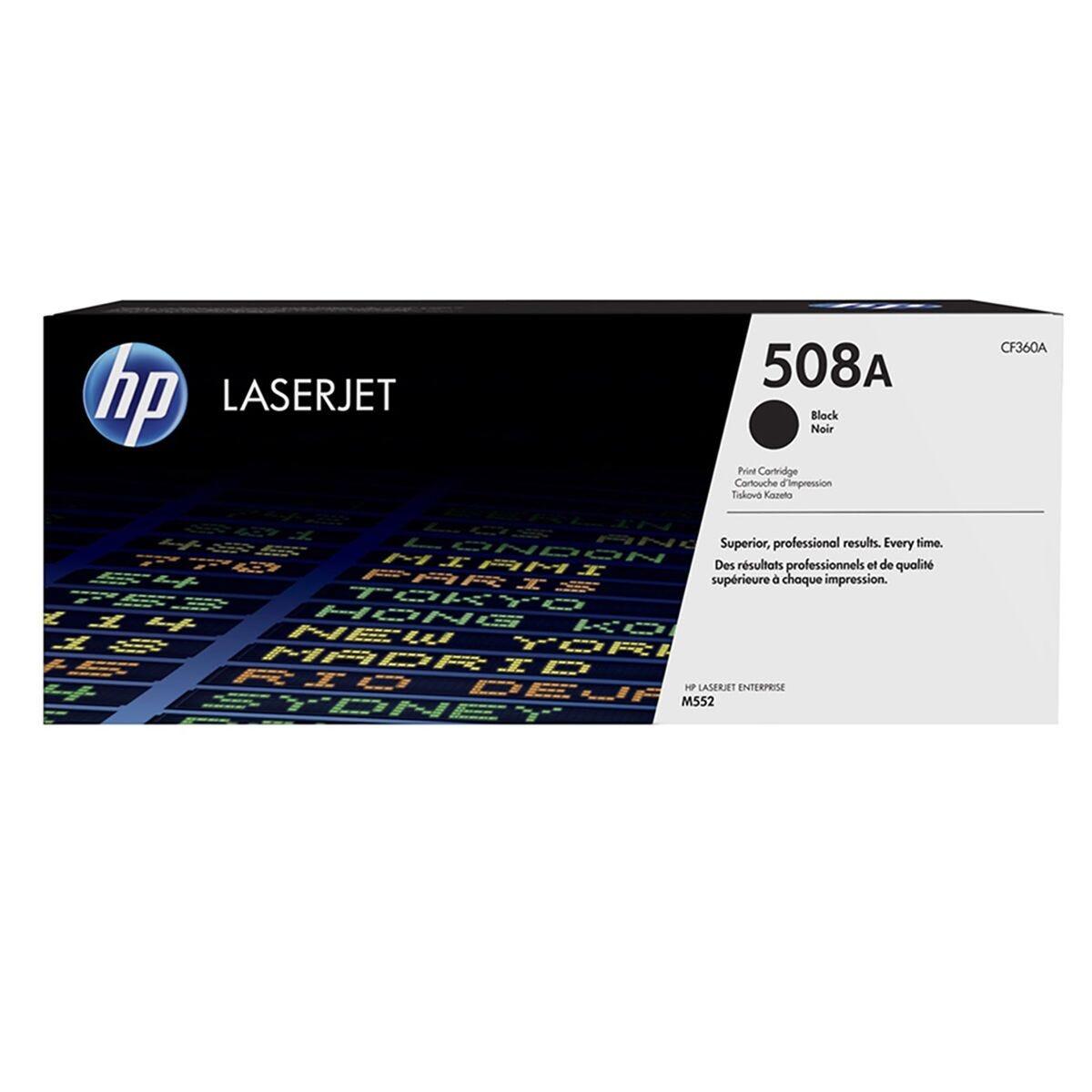 HP 508A Standard Yield Black CF360A