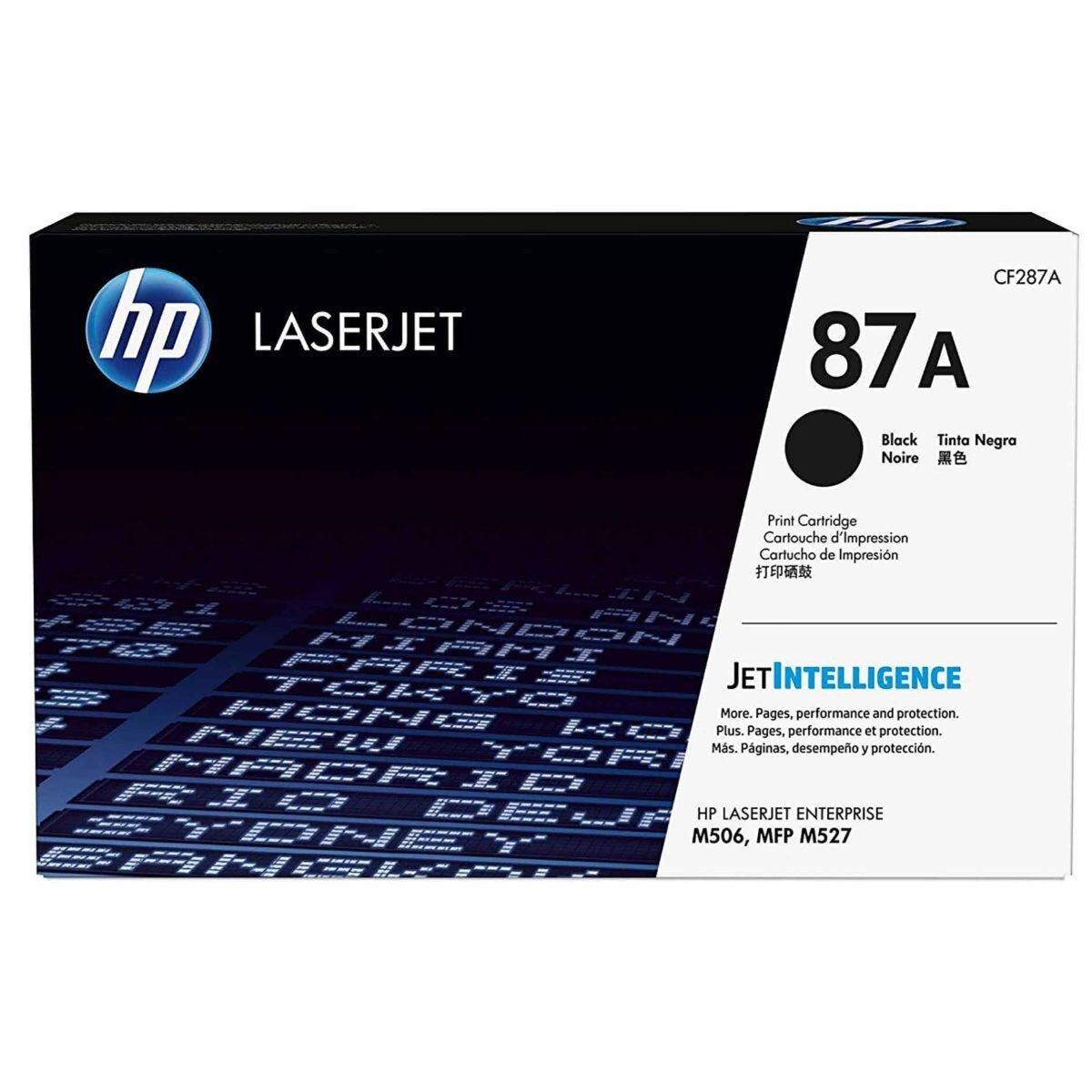 HP 87A LaserJet Toner Cartridge Black
