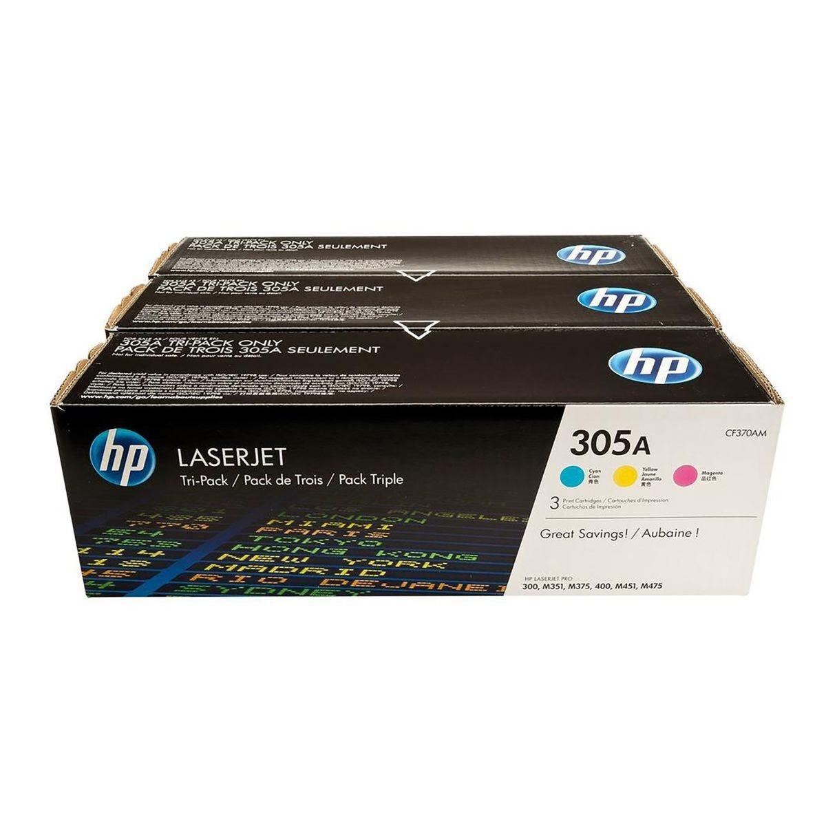 HP 305A Multi Pack Toner