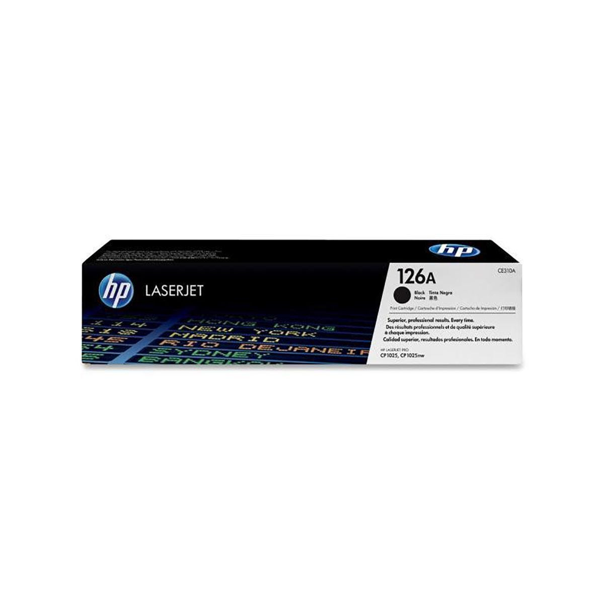 HP 126A Twin Pack Toner Black CE310AD
