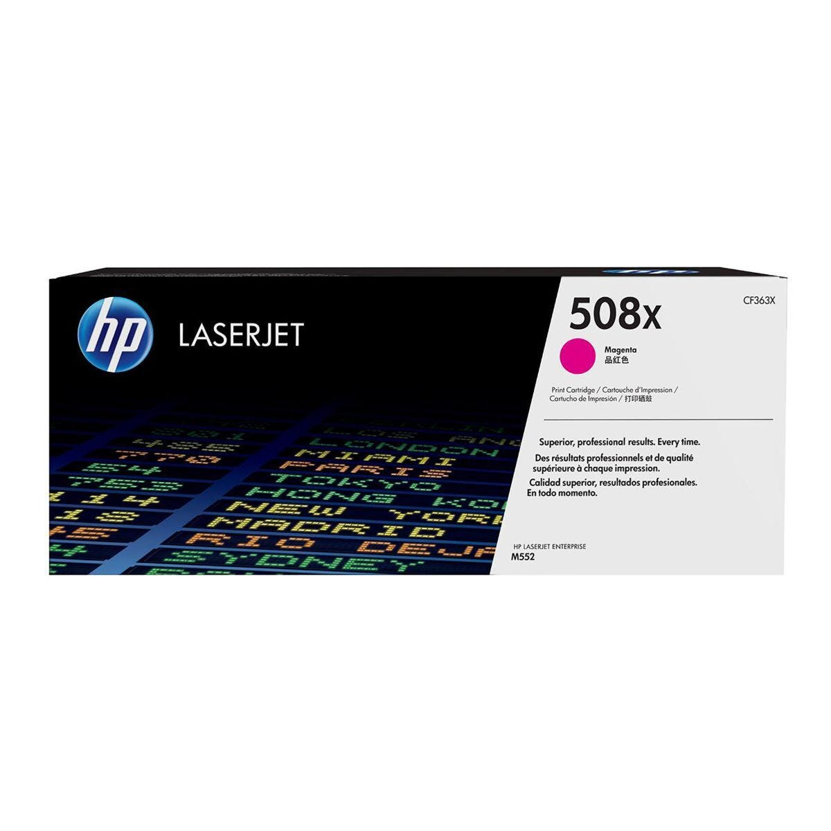 HP 508X High Yield Toner Magenta