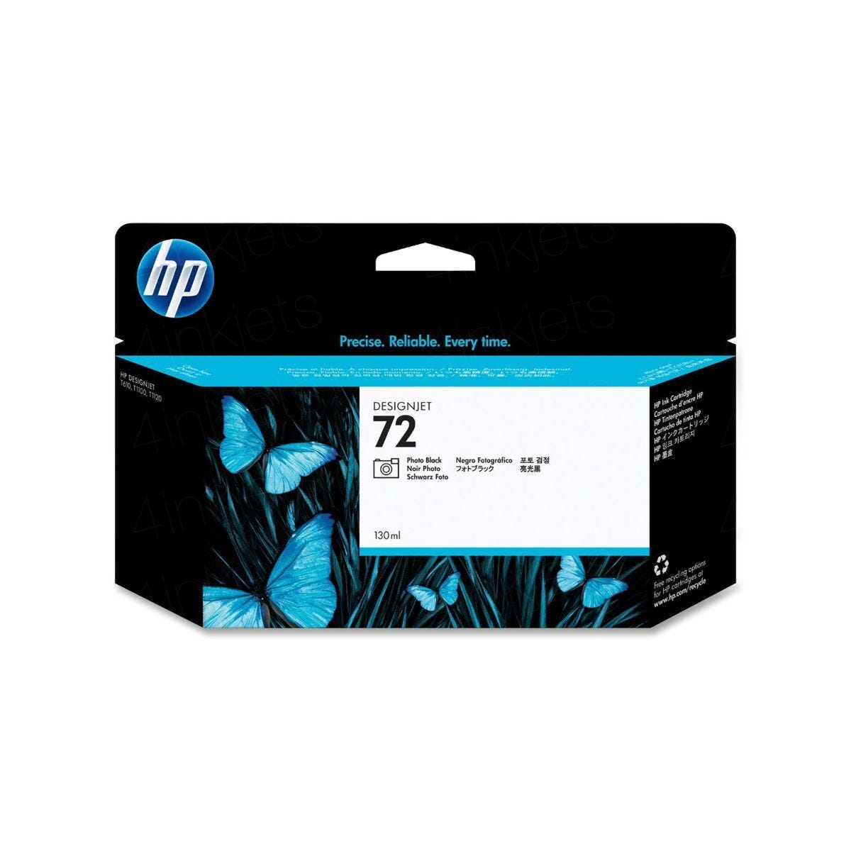 HP 72 Photo Inkjet Black C9370A
