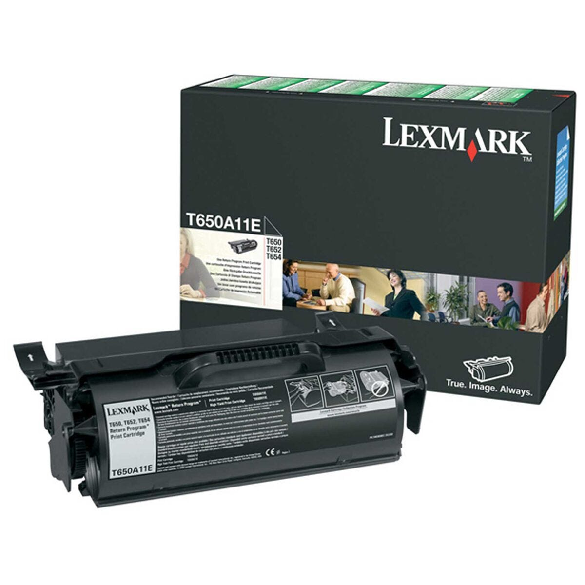 Lexmark 0T650A11E Ink Toner Cartridge